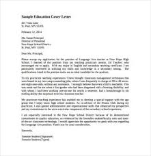 Awesome Collection Of 11 Teacher Cover Letter Templates Free