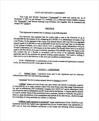 10 Collateral Agreement Templates - Free Sample ,example Format ...