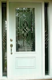 modern single wood entry door design painted with white color and fiberglass front doors glass panels