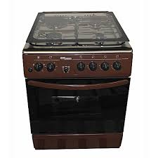 Electric gas stove Induction Cooktop Super General Sgc6470brnelectric Cooker 60x60 With Gas Burners Hot Platestainless Steel With Tempered Glasstopbrown Jumia Kenya Super General Sgc6470brnelectric Cooker 60x60 With Gas Burners