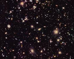 galaxies moving away faster than light