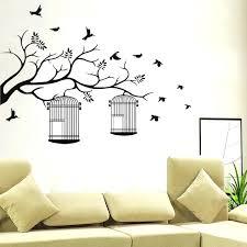 wall decor stickers birds birdcage wall decor birdcage wall art stickers vintage birdcage wall decor bedroom