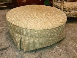 large round ottoman thomasville