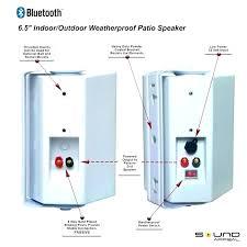 wireless patio speakers ideas patio speakers bluetooth for best outdoor patio speakers unique patio speakers for