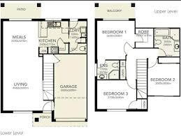 plans 3 story townhouse floor plans beautiful 2 y bedroom house homes modular home s