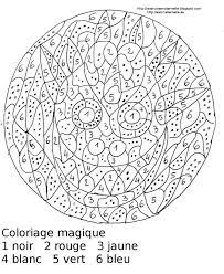 Maternelle Coloriage Magique Maternelle Un Masque