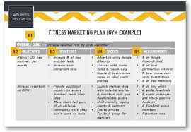 Advertising Plan Pdf Gym Marketing Plan Pdf Template How To Guide With