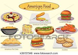 american food clipart. Unique Clipart Clip Art  Collection Of Delicious American Food Fotosearch Search  Clipart Illustration Posters For Food Clipart I