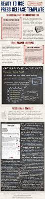 Ready To Use Press Release Template Infographic 1 000 Online