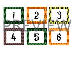 Pocket Chart Calendar Inserts Harry Potter Calendar Inserts For Pocket Chart