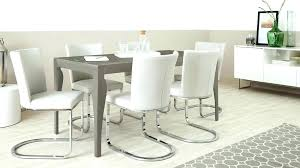 6 seat dining sets 6 dining table and chairs modern grey gloss set 6 dining table