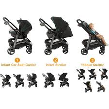 graco double stroller connect