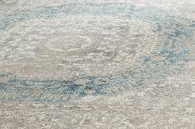 safavieh sofia collection sof365a vintage light grey and blue center medallion distressed area rug 9
