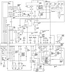 Ford ranger instrument cluster wiring diagram best of bronco ii wiring diagrams bronco ii corral
