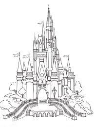 Disney castle clipart outline 7 » clipart portal, free portable network graphics (png) archive. Cinderella Coloring Pages Castle Coloring Page Disney Activities Disney Castle Drawing