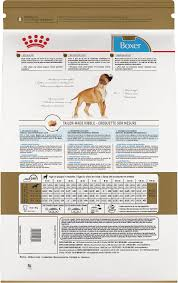 Boxer Puppy Growth Chart Royal Canin Boxer Puppy Dry Dog Food 30 Lb Bag