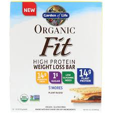 garden of life weight loss. Garden Of Life, Organic Fit, High Protein Weight Loss Bar, S\u0027mores Life
