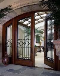 Beautiful Large Front Doors Glass And Iron Front Doors More Modest - Iron exterior door