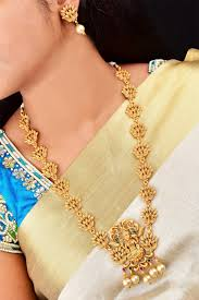 Laxmi Pearls Designs Pearl Drops Designer Long Necklace Set Laxmi Hara Free Express Delivery Nsn08 770 1275n
