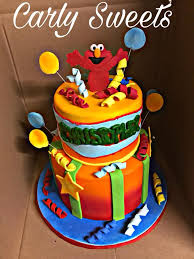 Elmo 1st Birthday Cake Carlas Sinfully Sweet