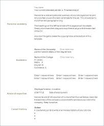 1 Page Resume Unique Photos Of One Page Resume Examples 2 Simple One