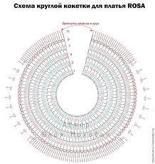 Imagini Pentru Crochet Round Neck Yoke Chart For All Sizes