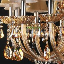 crystal chandelier luxury led chandeliers vintage gold chandelier modern classic chandeliers with fabric multi tier