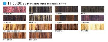 350 Hair Color Chart Hair Color Chart Ff Color Janet Collection