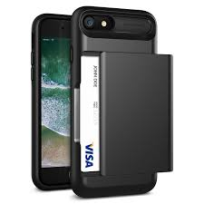 Vrs Design Iphone 7 Vrs Design Iphone 8 Case Iphone 7 Case Black Protective Wallet Case With 2 Card Slot New Damda Glide Shockproof Premium Tpu Layered Phone Cover