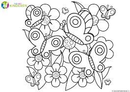 25 Nieuw Kleurplaat Vlinders En Bloemen Mandala Kleurplaat Voor