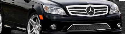 car abs front upper grill bumper grille fit mercedes benz c class w204 08 14 new