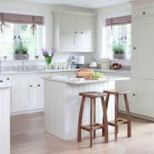 small kitchen island. 20 Charming Cottage-style Kitchen DecorsYes, A Clean, Fresh · Island For Small L