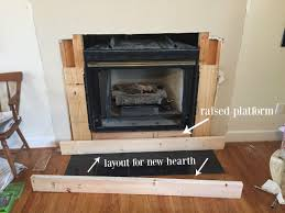 diy fireplace hearth layout and build diy diyproject fireplace homedesign doityourself blogger