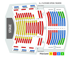 Carolina Seating Chart Seat Maps Nc Theatre