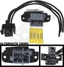 blower motor resistor harness apdty 084522 blower motor speed control resistor w wire wiring harness pigtail