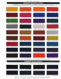 Dupont Color Chart For Cars Dupont Hot Hues Color Chart Bahangit Co