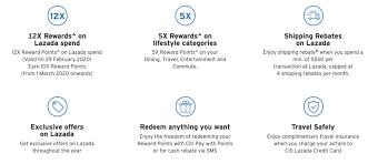 new citi lazada credit card offers 4 8