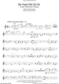 city of stars violin sheet music dion my heart will go on love theme from titanic sheet music for