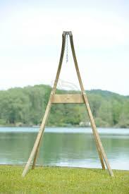 outdoor indoor hanging chair stand atlas