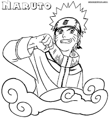 Naruto Colouring Pages Coloring With To Download And Print Free 912