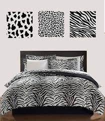 cow leopard zebra animal print set spot