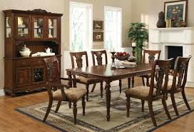 nebraska furniture mart dining sets dining room tables sets luxury cherry brown finish transitional dining set