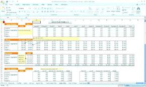 Sales Projection Format In Excel Sales Forecast Excel Restaurant Sales Forecast Excel Template A