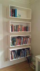 bookshelves diy kitchen wall shelves
