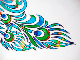 Glass Painting Tutorial Lakshmi