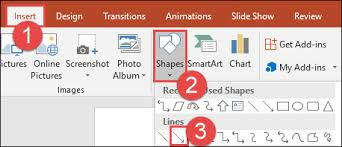 Powerpoint Org Chart Lines Not Straight How To Draw And Manipulate Arrows In Microsoft Powerpoint
