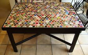 bottle cap furniture. diy ideas that will help you to reuse bottle caps cap furniture c