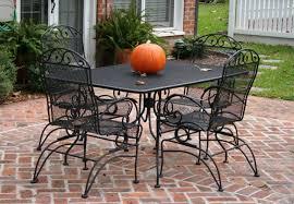 iron patio furniture. Stylish Metal Patio Furniture Mesh With Black Color  Theme Rectangular Residence Decorating Photos Iron Patio Furniture