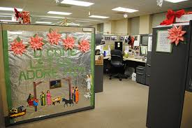 decorating office for christmas ideas. interesting ideas image of simple cubicle decorating ideas intended office for christmas