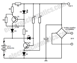 12v battery charger circuit 12v battery charger circuit without transformer at Battery Charger Block Diagram